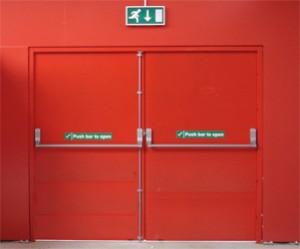 Double Fire Rated Door