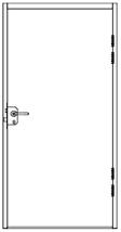 Single Security Doors