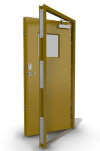 Steel Security Door with Frame
