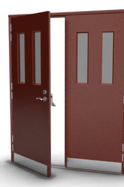Double Security Doors