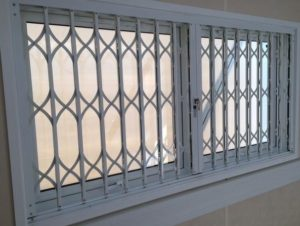 Retractable Security Grille